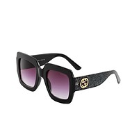 GUCCI trend of men and women Sun Shades Eyeglasses Glasses Sunglasses Black N-ANMYJ-BCYJ