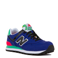 New Balance Pop Tropical 574 Sneakers in Spectrum Blue