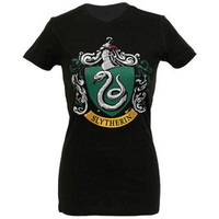 Harry Potter Slytherin Color Crest Women