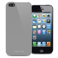 KAYSCASE Slim Hard Shell Cover Case for Apple new iPhone 5 / iPhone 5S, Retail Packaging with Screen Protector(Gray)