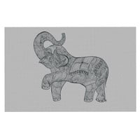 "Belinda Gillies ""Elephant"" Decorative Door Mat"
