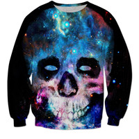 Galaxy skull sweatshirt
