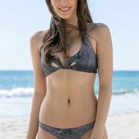 Mary Grace Swim - Switch Reversible Top | Snake