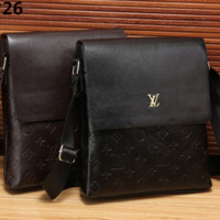 LV Single shoulder oblique cross briefcase [305795661853]