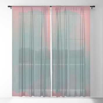 crush on you Sheer Curtain by duckyb