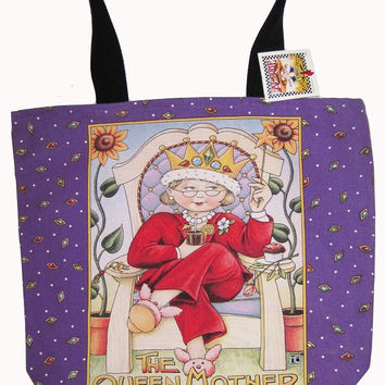 Mary Engelbreit Queen Mother Tote-MT19
