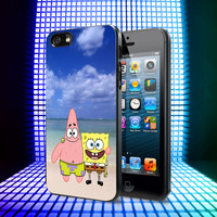 Spongebob And Patrick Summer Beach iPhone 5, 5S, 4, 4S and Samsung Galaxy S3, S4