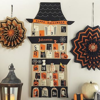 Haunted House Countdown Calendar | Pottery Barn Kids