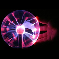 USB Plasma Ball Sphere Lightning Light Magic Crystal Lamp Desktop Globe Laptop = 1945897156