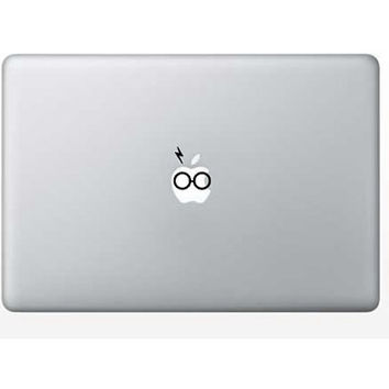 Harry Potter inspired Macbook Decal / Sticker for Apple Logo