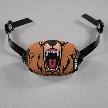 Bear Mask Chin Strap Cover