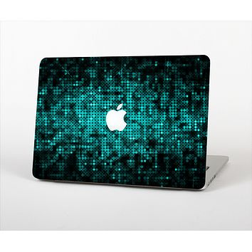 """The Glowing Digital Green Dots Skin Set for the Apple MacBook Pro 13"""""""