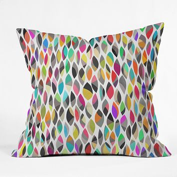 Garima Dhawan connections 7 Outdoor Throw Pillow