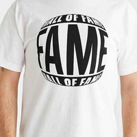 Hall Of Fame Crystal Vision Tee- White