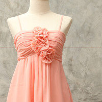 Sweet Peachpuff Bossom dress/ summer sale get 50% off