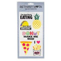 Bethany Mota Snack Food Temporary Tattoos : Target