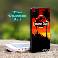 Jurassic Park - For iPhone 5 Black Case Cover