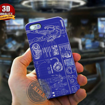 Ironman Case, Prototype Case for Iphone 4, 4s, Iphone 5, 5s, Iphone 5c, Samsung Galaxy S3, S4, S5, Samsung Galaaxy Note 2, Note 3