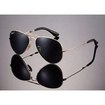 Cheap LTD EDN RAYBAN 22KT GOLD PLATED Folding AVIATOR Sunglasses RB 3479KQ 001/N5 58mm outlet