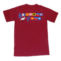 Bayview Signal Flags in Nautical Red