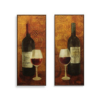 Vin Rouge Wine Wall Art