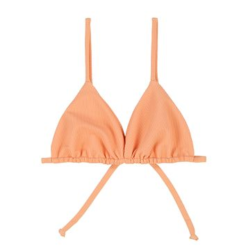 SKIN - Triangle Top | Orange Rib