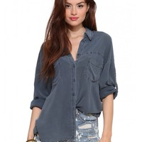 Savon Button Down Top