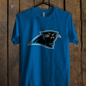 carolina panthers black Blue For Mens T Shirt and Womens T Shirt *76*