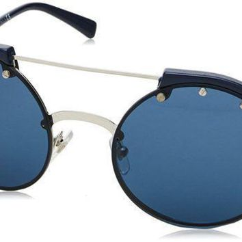 ESBON3F Versace Women's Studded Brow Bar Sunglasses