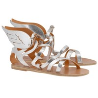 Nephele Winged Leather Sandal