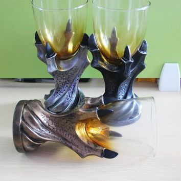 Game of Thrones Gothic Dragon Claw Glass Wine Goblet