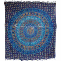 Indian Mandala Wall Tapestry Queen tapestries Indian Bedding Wall Decor 3140