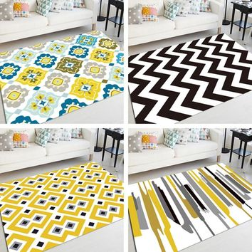 Carpets Nordic Living Room Bedroom Carpet Bedroom Doorway Floor Beach Mat Mat Door Mats Outdoor Doormat Tapete Kitchen Rug