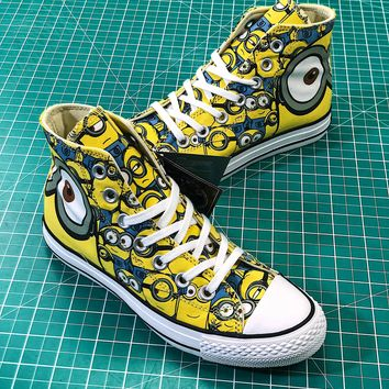 Minions X Converse All Star 100th High Sneakers - Best Online Sale