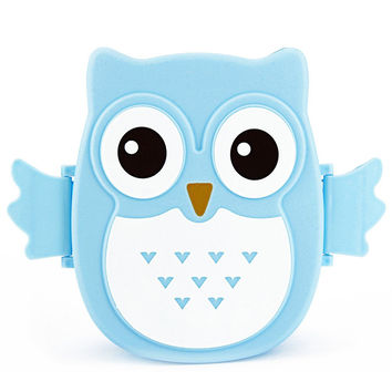 Cartoon Owl 1050ml Lunch Box Microwave Bento Box Food Container Storage Japan Style Meal Boxes Tableware Microwave Oven For Kids