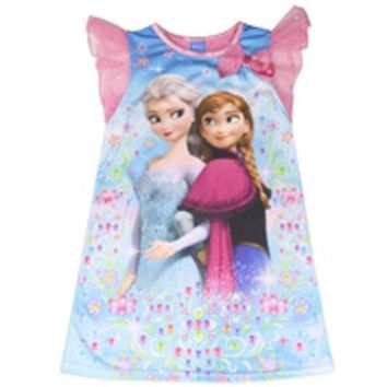FROZEN Girls 4-8 Nightgown-fz046