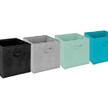 Dorm Storage Cubes - Vibrant Dorm Storage Products Decor Bright Colorful Organization Items Organizer Save Space