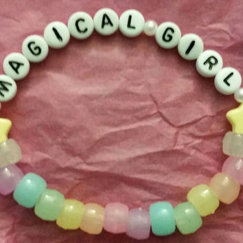 Mahou Shoujo/Magical Girl Glow in the Dark Bracelets
