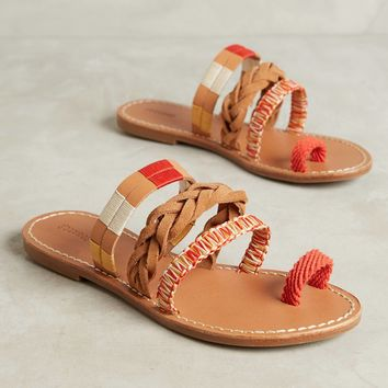Soludos Friendship Bracelet Braided Sandals