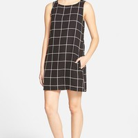 Women's cupcakes and cashmere Plaid Shift Dress,