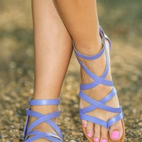 Ready, Set, Step Sandal-Lilac