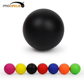 ProCircle Crossfit Massage Ball 100% Rubber Hockey Lacrosse Ball 64mm Trigger Point Relaxation Self Massage Free Shipping