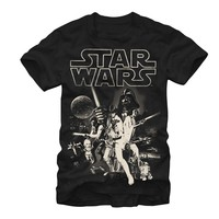 Star Wars Men's - Classic Poster T-Shirt