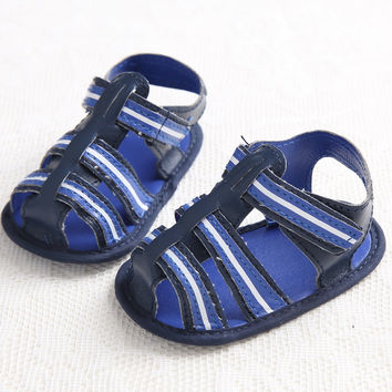 Stylish Summer Design Shoes Soft Baby Sandals [6048599617]