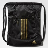 adidas Alliance 2 Sackpack - BLACK,GOLDMT | adidas US