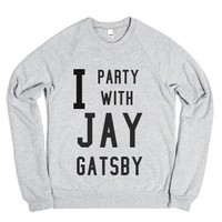 Heather Grey Sweatshirt | Fun Great Gatsby Shirts