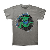 Grateful Dead Men's  Dancing Bear Est.1965 Slim Fit T-shirt Grey