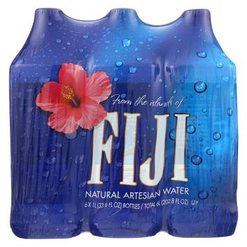 Fiji Natural Artesian Water Artesian Water - Case Of 2 - 33.8 Fl Oz.