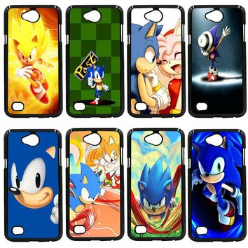 Sonic the Hedgehog Series Phone Case Hard PC Cover for LG L Prime G2 G4 G5 G6 G7 K4 K8 K10 V20 V30 2017 Nexus 5 6 5X Pixel Shell