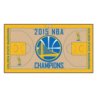 Golden State Warriors 2015 NBA Champion 2x4 Court Runner (24x44)